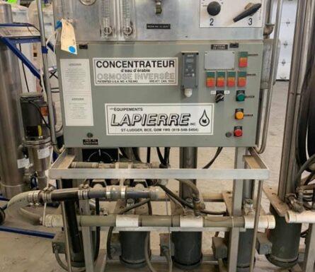 Concentrateur Lapierre Turbo 20 HP série 3000