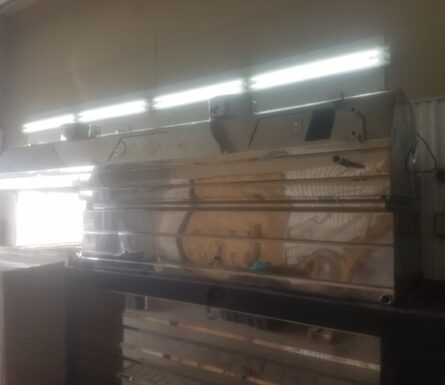 Complete evaporator – 3 x 12 Wood burning Dominion & Grimm