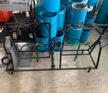 Machine à laver Plastica 33 gallons avec extension