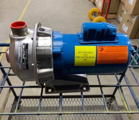 Goulds feed pump 3/4 HP 2ST 120/240V