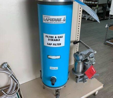 Filtre à eau Lapierre 24″ complet