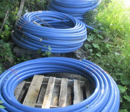 """Lot de rouleaux de tubulure MapleFlex 1 1/2"""" bleu x 300'"""